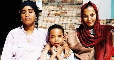 Femmes et enfants d'Egypte