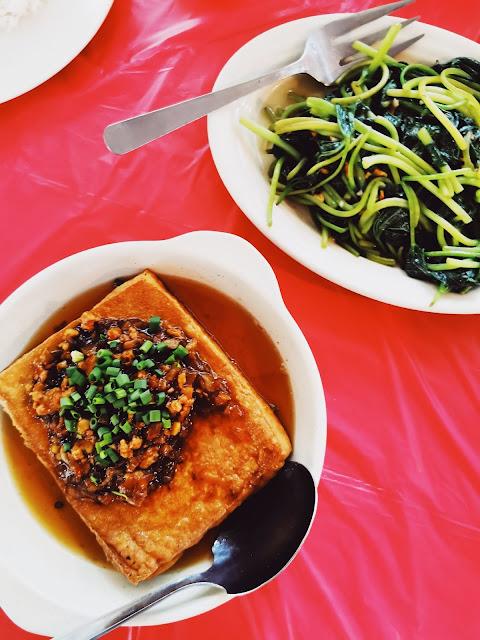 Signature Tofu RM13 & Steamed Eggs RM15