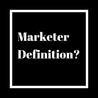 What is Marketer?