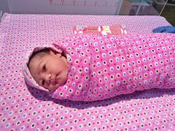 Kehadiran Anak Ke-4 (Baby Girl)