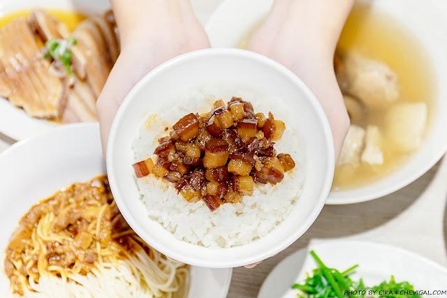 MG 5443 - 熱血採訪│玉堂春魯肉飯,台中魯肉飯的後起之秀,文青派台灣味小吃,還有老饕必點蔥油雞腿超誘人!