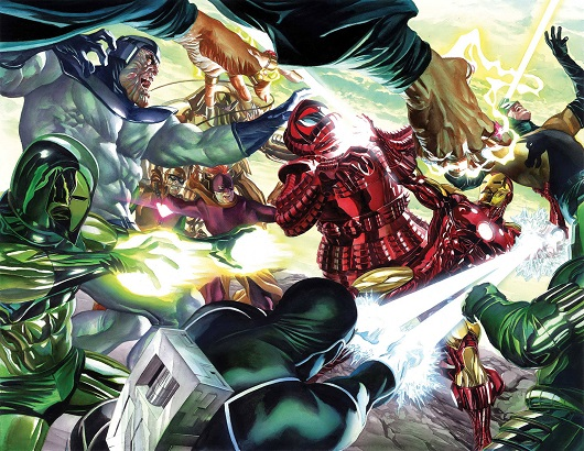 Cover of Iron Man #1