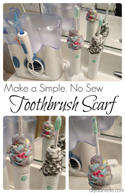 This no sew toothbrush cover will keep mold and debris out of your toothbrush interior.