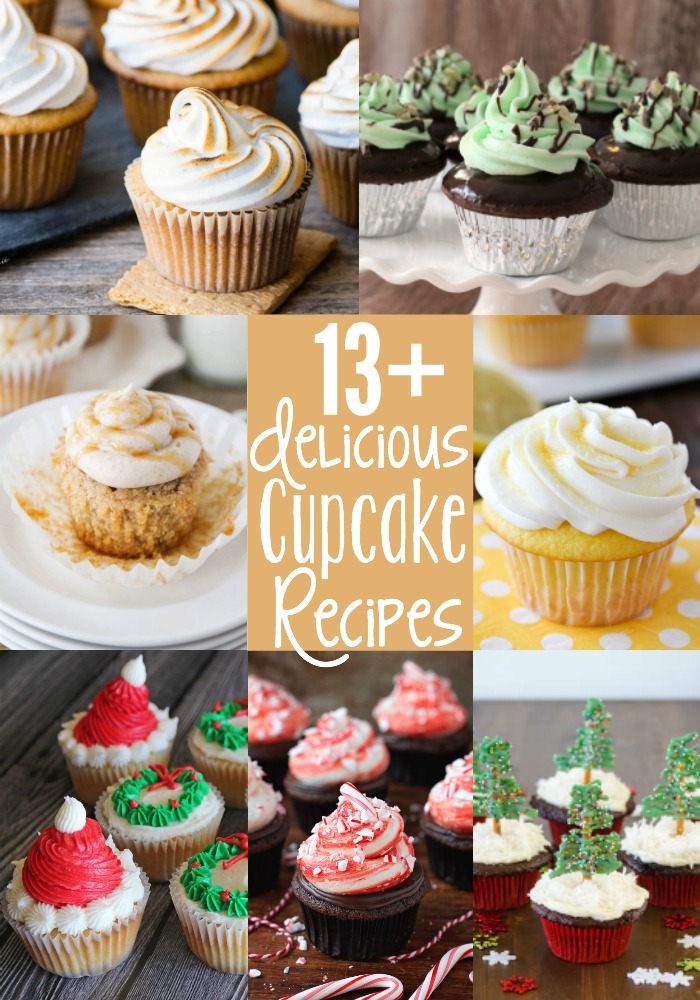 13 amazing cupcake recipes, perfect for celebrating National Cupcake Day!