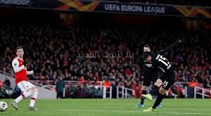 ارسنال يسقط بالخساره من امام فريق آينتراخت فرانكفورت في الجولة الخامسه من الدوري الأوروبي