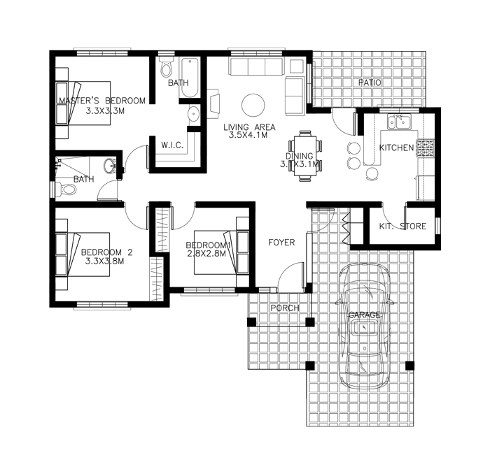 40 Small House Images Designs With Free Floor Plans Lay