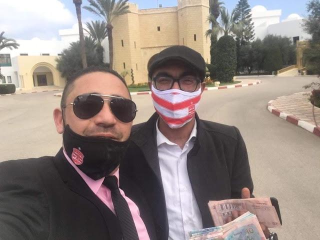 خلية أحباء النادي الافريقي بالمهدية تتكفل باقامة اللاعبين قبل مواجهة مستقبل رجيش