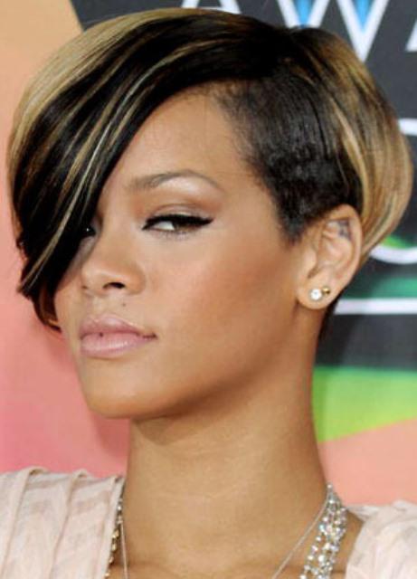 Model Rambut Bob Rihanna Trend Dan Unik Tips Rambut - Gaya rambut pendek rihanna