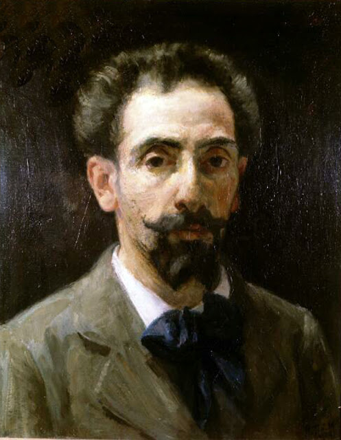 Henri Teixeira de Mattos, Self Portrait, Portraits of Painters, Fine arts, Teixeira de Mattos, portraits of painters blog, Paintings of Teixeira de Mattos, Painter Teixeira de Mattos