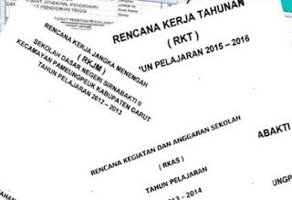 Contoh Laporan RKT, RKJM, Dan RKAS Terbaru 2017