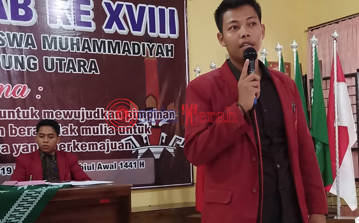 Tumbangkan Dua Kandidat Lain, Dedi Ariyanto Terpilih Sebagai Ketum IMM Lampura
