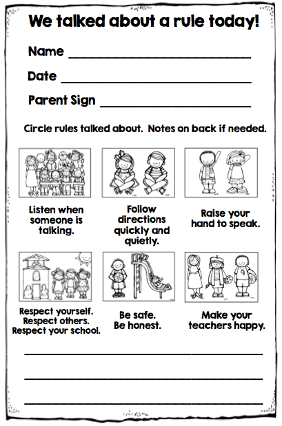 Classroom Design Should Follow Evidence : Why i took my behavior chart off wall simply kinder