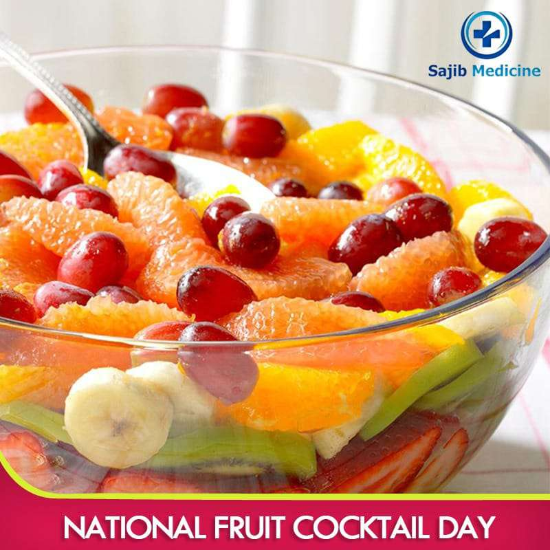 National Fruit Cocktail Day Wishes Beautiful Image