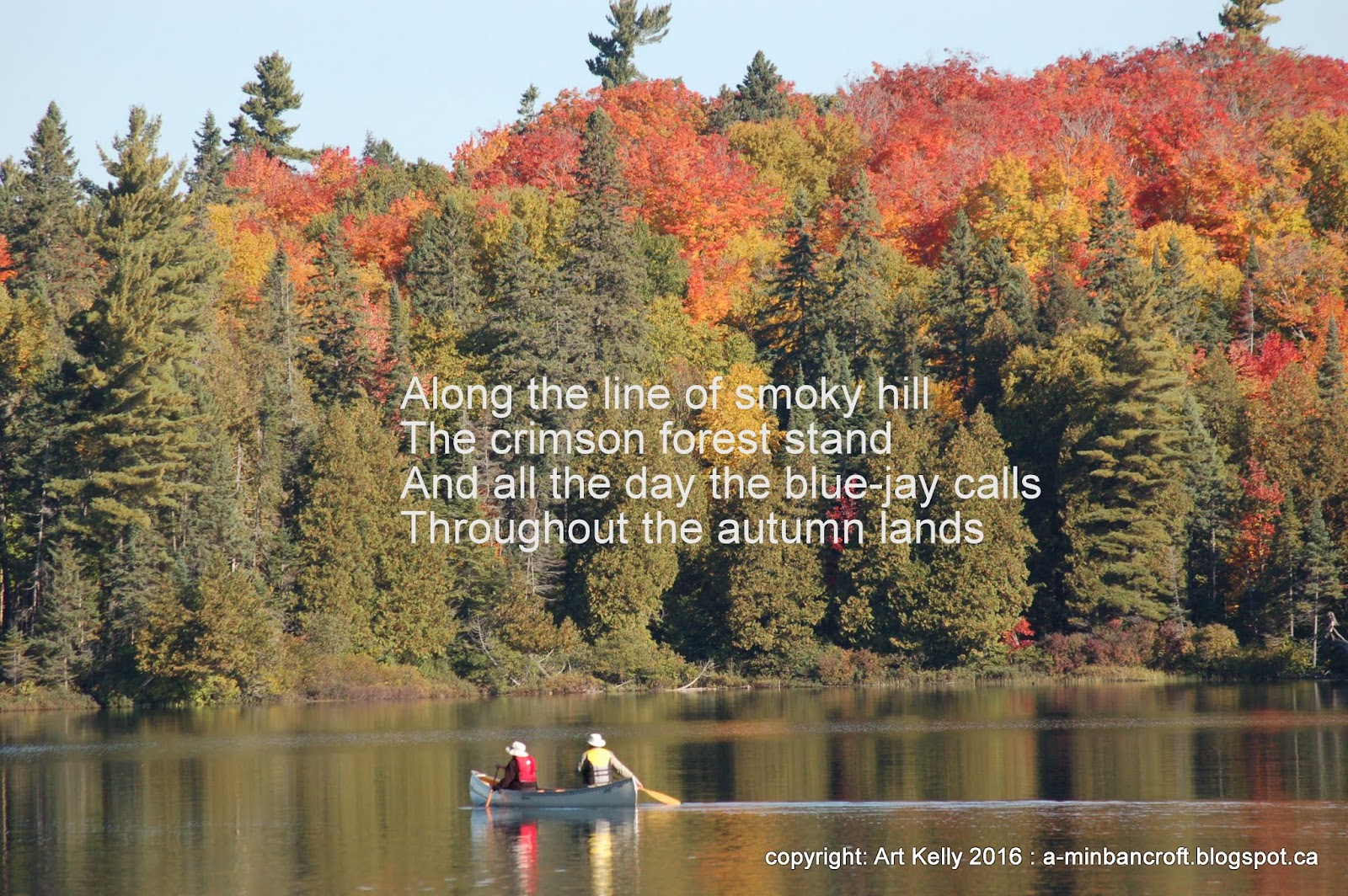 an examination of the poem indian summer by william wilfred campbell Among the 112 poems in william wilfred campbell: selected poetry and essays are the familiar indian summer  and how one winter came in the lake region, along with .