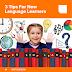 3 نصائح لمتعلمي اللغة الجديدة