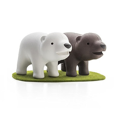 White and Brown Bear Shakers