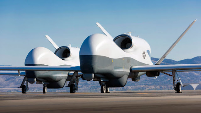Chiếc Drone Hạng Nặng MQ-4C Triton Do Iran Bắn Hạ Có Giá $180 Triệu USD