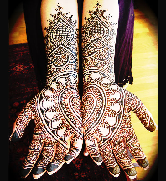 Full Hand Mehandi Design