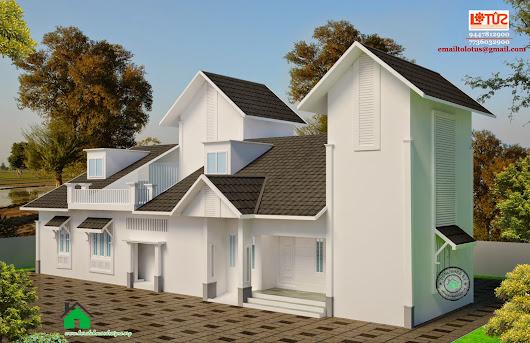 Single Floor Elevation Zinc : Kerala home design google