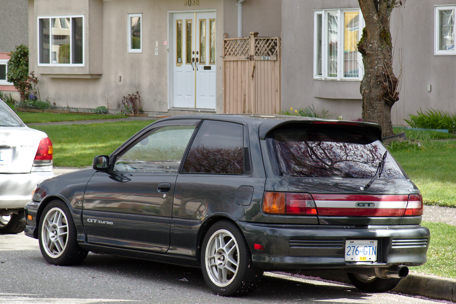 1985 Honda Accord >> Old Parked Cars Vancouver: 1990 Toyota Starlet GT Turbo