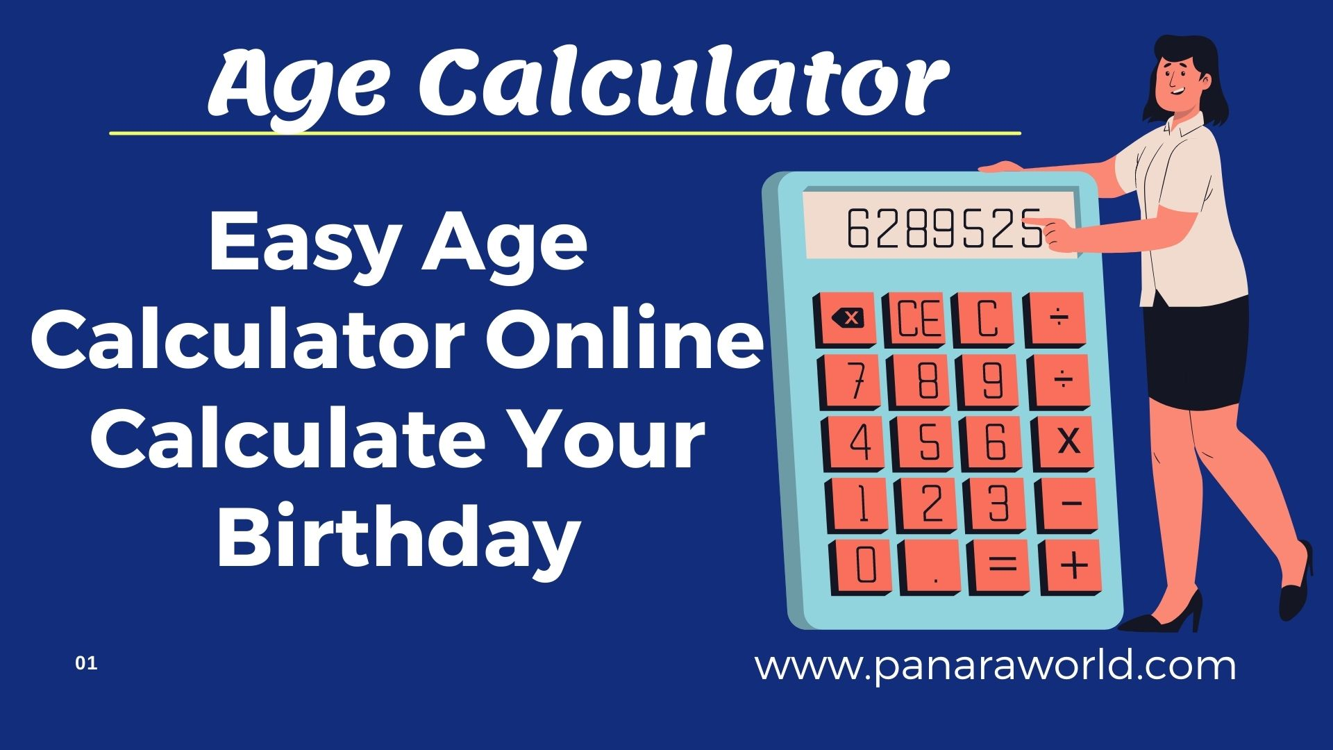 Easy Age Calculator Online