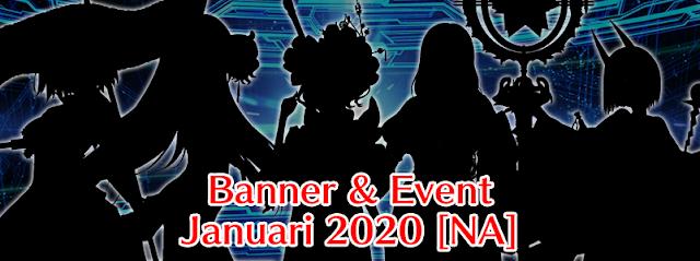 Banner Gacha dan Event Januari 2020 (FGO NA)