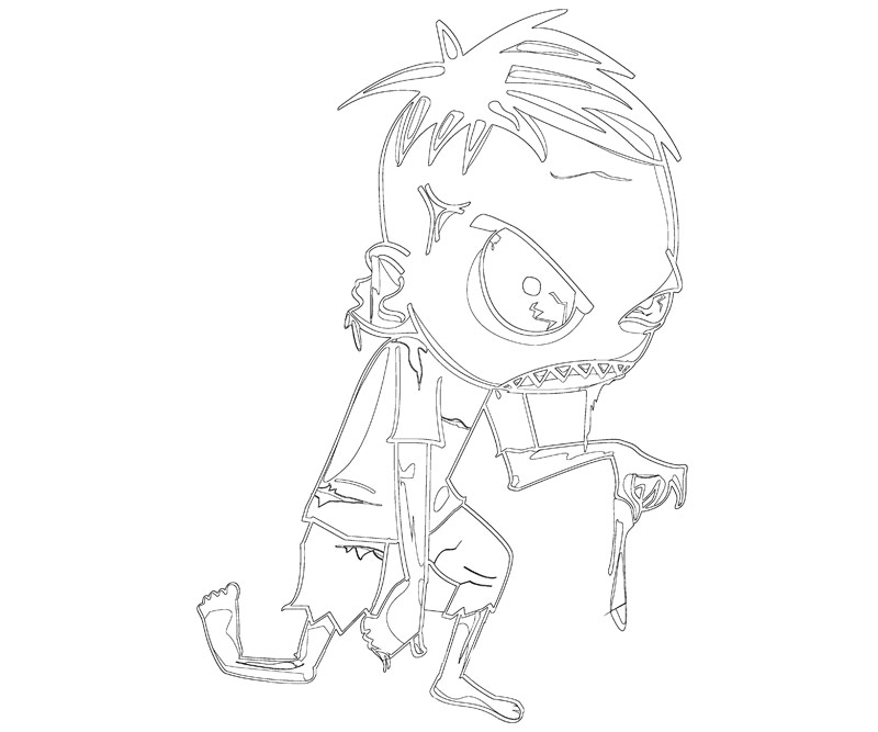 Minecraft Coloring Pages Mutant Zombie Coloringpages2019