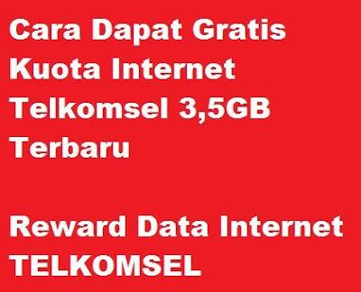 Banyak pelanggan Telkomsel yang mencari cara agar dapat gratis kuota internet Cara Dapat Gratis Kuota Internet Telkomsel 3,5GB Terbaru