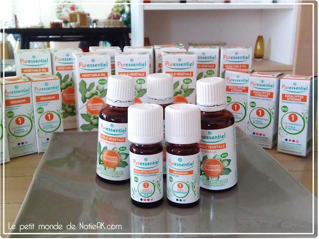 Huiles essentielles apaisantes et repulsives contre les insectes
