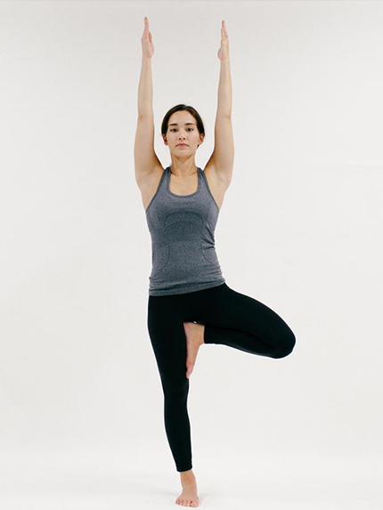Tree Pose (YOGA)