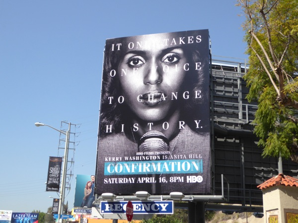 Confirmation HBO movie billboard