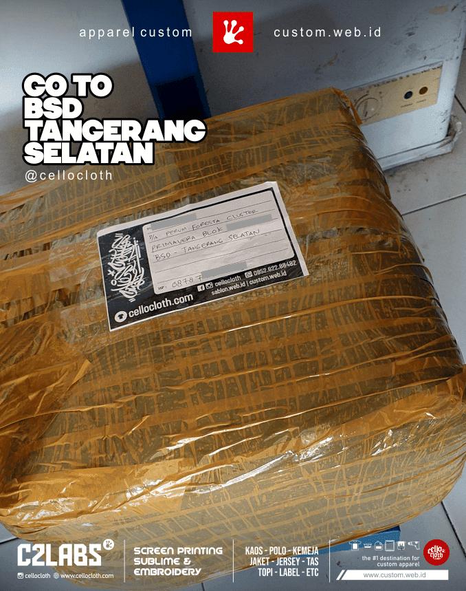 Go to BSD Tangerang Selatan - CelloShipCC