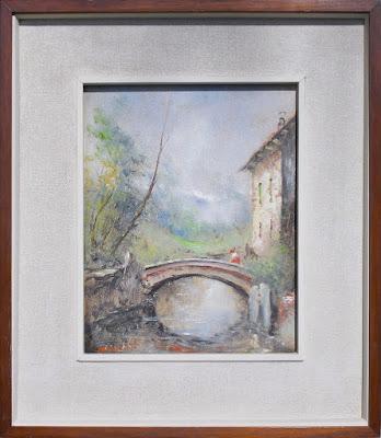Tre dipinti di Athos Brioschi - arte - annunci