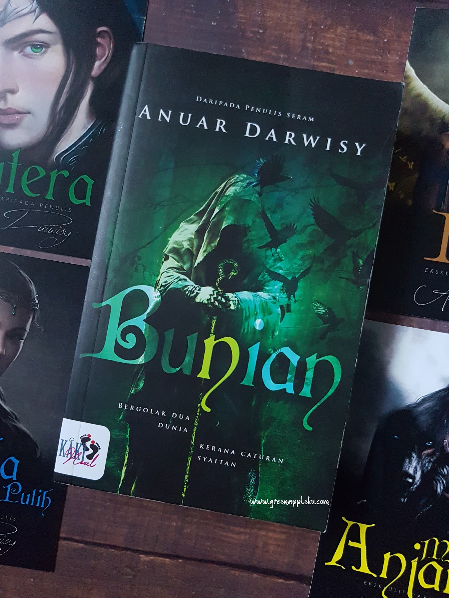 Novel Bunian Karya Anuar Darwisy