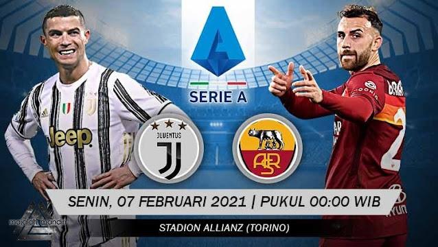 Prediksi Juventus Vs AS Roma