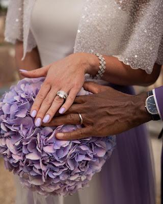 Elina Svitolina and Gael Monfils Wedding Photos