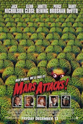 Mars Attacks! Poster