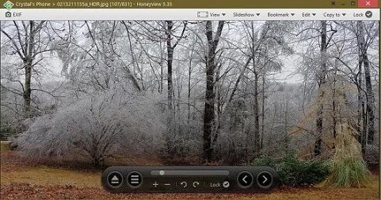 Windows 10 صور بدائل Honeyview