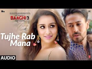 Tujhe Rab Mana Lyrics  Baaghi 3