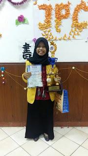 PBJ UNNES Memang Jawara, Ajeng Raih Juara I dalam Lomba Presentasi Bahasa Jepang Tingkat Nasional