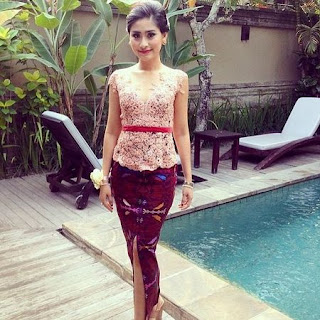 model kebaya simple dan cantik 2018