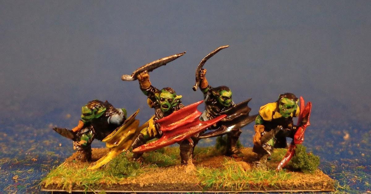 Bob S Miniature Wargaming Blog Lotr Goblin Warband