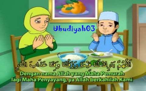 Bacaan Lafadz Doa Sebelum Dan Sesudah Makan Minum