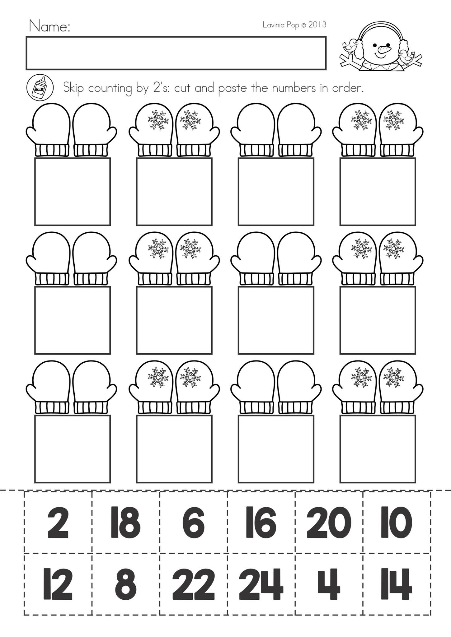 Spring Math Worksheets For 2nd Grade   rxuxa [ 2048 x 1449 Pixel ]
