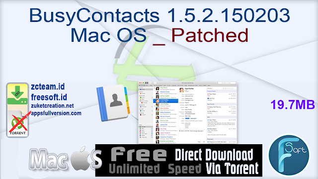 BusyContacts 1.5.2.150203 Mac OS _ Patched