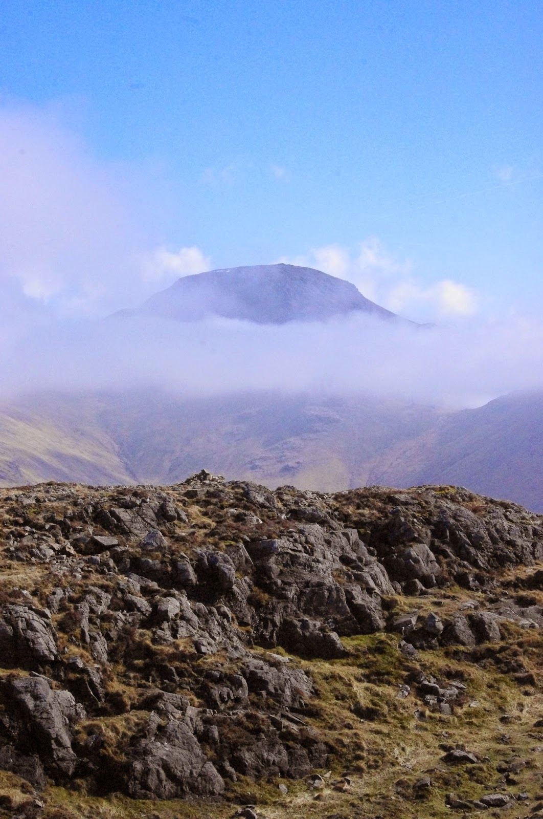 Lake District Cumbria Haystacks Mountain Climbing Walking