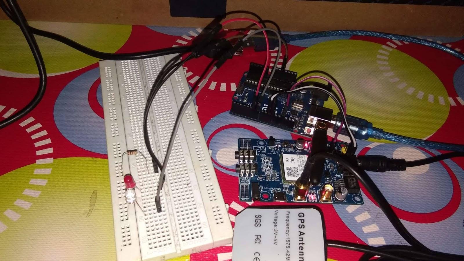 Arduino, Cara Mengakses GSM SIM808 untuk Control relay | Belajar