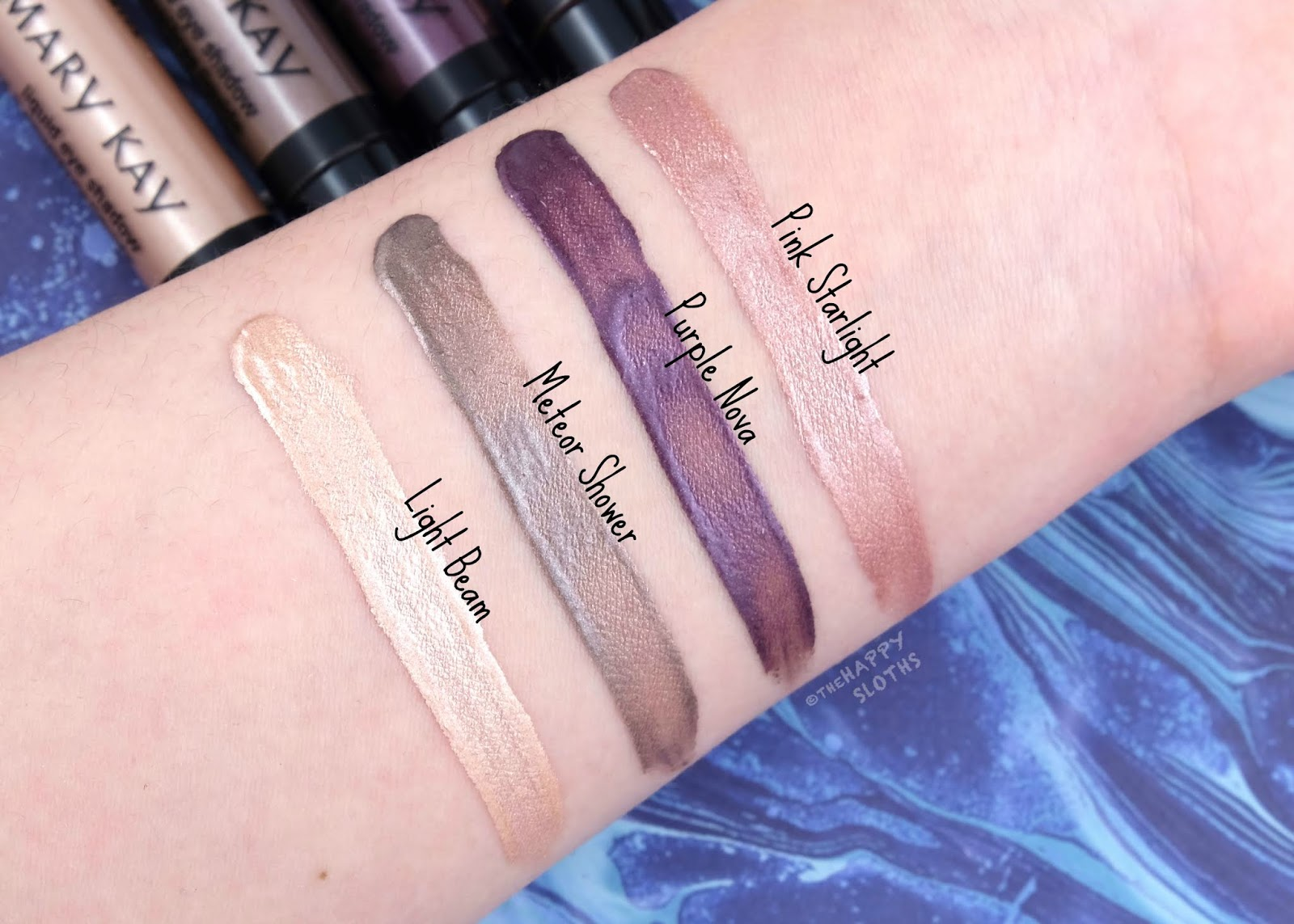 Mary Kay   Spring 2020 Collection   Liquid Eyeshadow: Review and Swatches