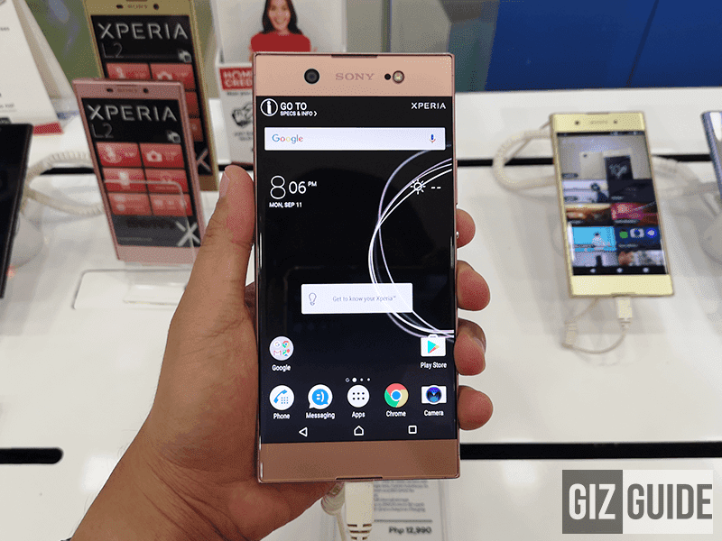 Sony Xperia XA1 Ultra - 8,169 hits as of writing