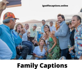 200 + Family Captions & Quotes For Instagram Family Pictures